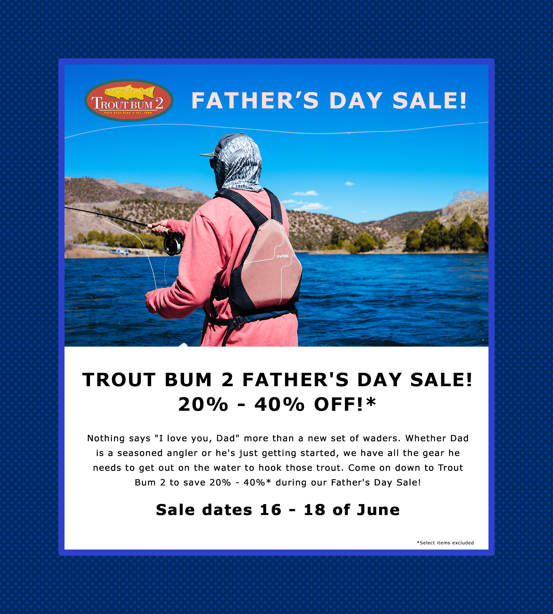2017 Father's Day Site Flyer