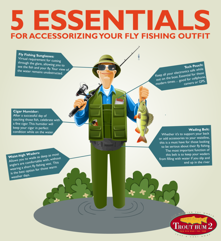 5 essentials for accessorizing your fly fishing outfit